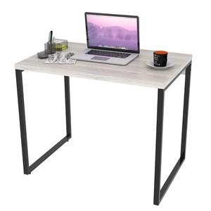 Mesa de Escritório Office 90cm Estilo Industrial Prisma Snow - Mpozenato