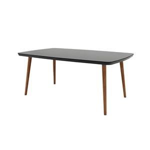 Mesa de Jantar 170cm Jade Naturale/Black - RV Móveis