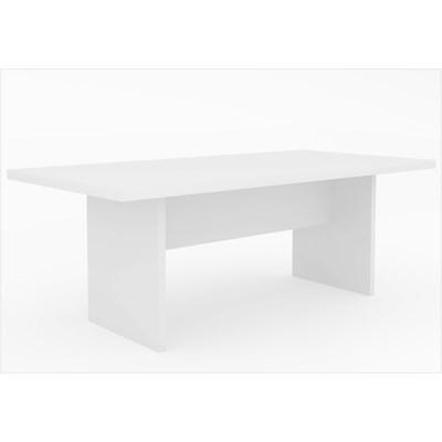Mesa de Reunião ME4119 Branco - Tecno Mobili