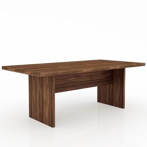 Mesa de Reunião ME4119 Nogal - Tecno Mobili