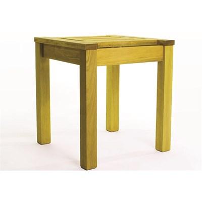 Mesa Lateral Echoes Stain Amarelo - Mão & Formão
