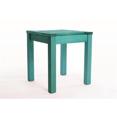 Mesa Lateral Echoes Stain Azul - Mão & Formão