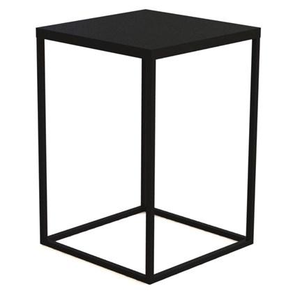 Mesa Lateral G Cube Preto - Artesano