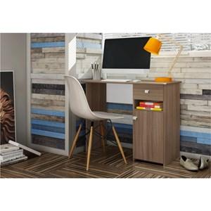 Mesa para Computador com 01 Gaveta Colegial MC7007 Montana - Art in Móveis