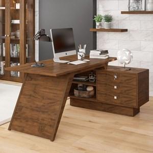 Mesa para Computador com Gaveteiro TC140 Nobre - Dalla Costa