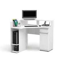Mesa para Computador de Canto 96 cm Branco - Kappesberg