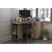 Mesa para Computador de Canto 96 cm Nogal - Kappesberg