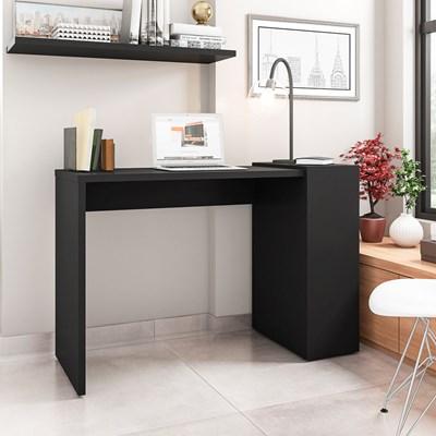 Mesa para Computador Escrivaninha 116cm Connection H01 Preto - Mpozenato