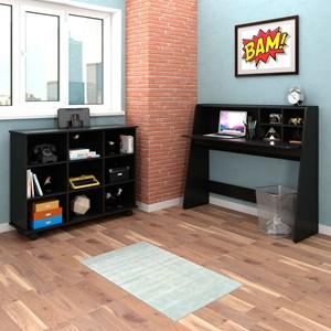 Mesa para Computador Escrivaninha Idealle e Nicho Multiuso Toys Preto - Mpozenato