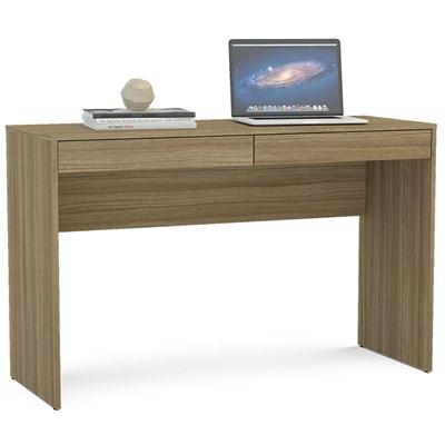 Mesa Para Computador Escrivaninha Lindóia Castanho - Politorno