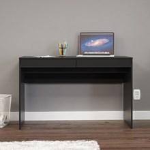 Mesa Para Computador Escrivaninha Lindóia Preto - Politorno