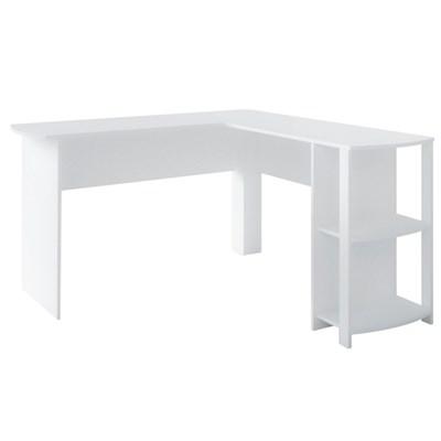 Mesa para Computador Escrivaninha Luma Web Branco - Artany