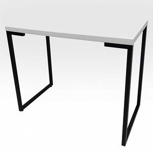 Mesa Para Computador Escrivaninha Porto 90cm Branco - Fit Mobel