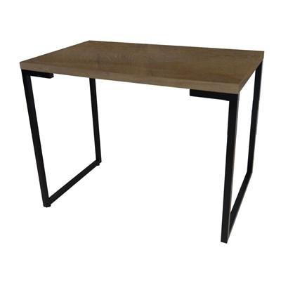 Mesa Para Computador Escrivaninha Porto 90cm Castanho - Fit Mobel