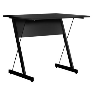 Mesa Para Computador Escrivaninha Zetta 90cm Preto - Fit Mobel
