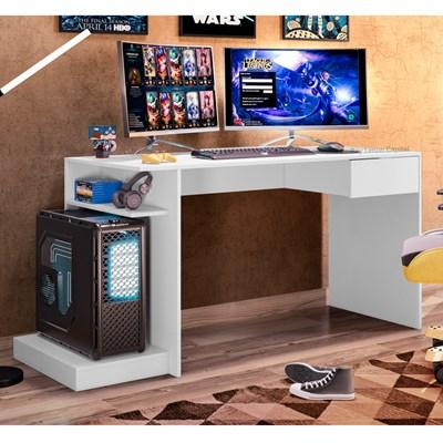 Mesa para Computador Gamer Speed B03 Branco – Mpozenato