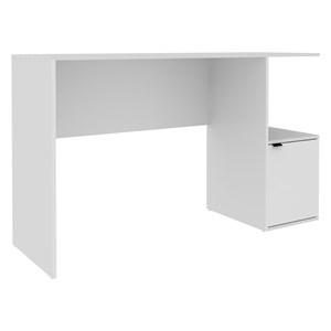 Mesa para Computador Notebook 1 porta 1 Nicho BC 75 Branco- BRV Móveis