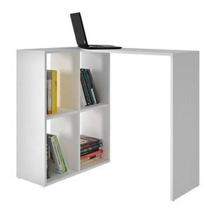 Mesa para Computador Notebook Cube BC42 com Nichos Branco - BRV