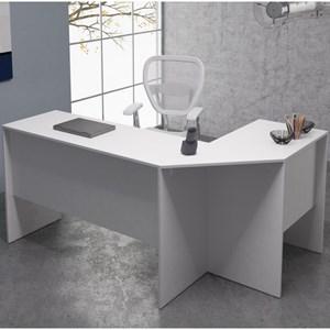 Mesa para Computador Notebook de Canto BHO08 Branco - BRV
