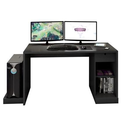 Mesa para Computador Notebook Desk Game DRX 3000 Preto - Móveis Leão