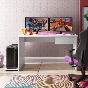 Mesa para Computador Notebook Desk Game DRX 8000 M09 Branco - Mpozenato