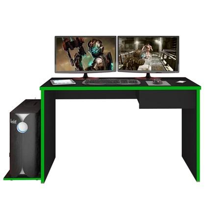 Mesa para Computador Notebook Desk Game DRX 8000 M09 Preto/Verde - Mpozenato