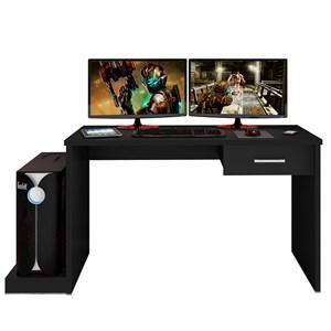 Mesa para Computador Notebook Desk Game DRX 9000 Preto - Móveis Leão