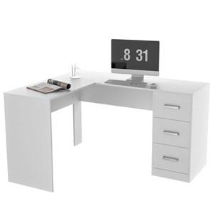 Mesa para Computador Notebook em L Office Plus MES 0502 Branco - Appunto