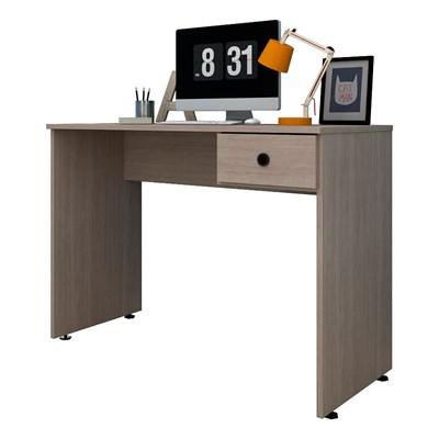 Mesa para Computador Notebook Escrivaninha 101cm Dubai L03 Carvalho Bruma - Mpozenato