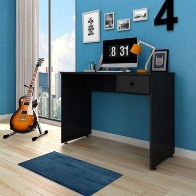 Mesa para Computador Notebook Escrivaninha 101cm Dubai L03 Preto - Mpozenato