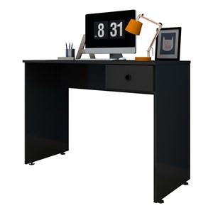 Mesa para Computador Notebook Escrivaninha 101cm Dubai Preto - Mpozenato