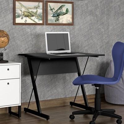 Mesa para Computador Notebook Escrivaninha 90cm Sigma Z F02 Preto - Mpozenato