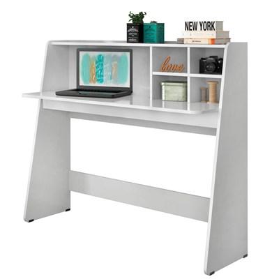 Mesa para Computador Notebook Escrivaninha Idealle Branco - Mpozenato