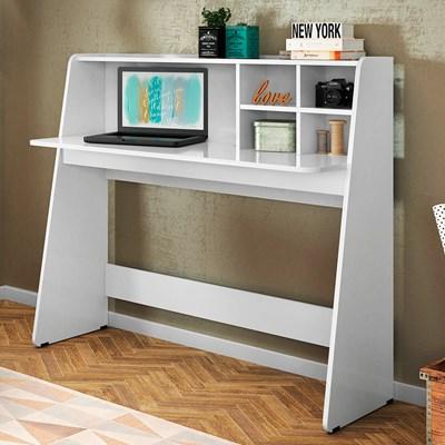 Mesa para Computador Notebook Escrivaninha Ideia Branco - Colibri