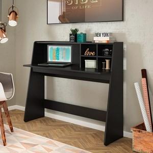 Mesa para Computador Notebook Escrivaninha Ideia Preto - Colibri
