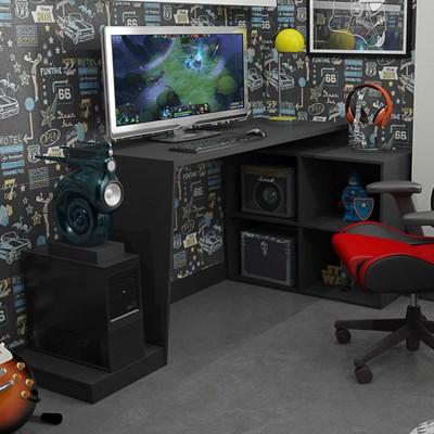 Mesa para Computador Notebook Gamer BMG 03 Preto - BRV