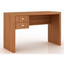 Mesa para Escritório 02 Gavetas ME4123 Amêndoa - Tecno Mobili
