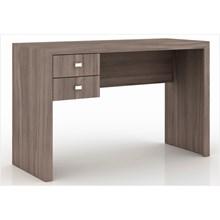 Mesa para Escritório 02 Gavetas ME4123 Carvalho - Tecno Mobili