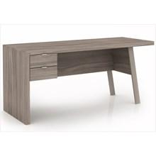 Mesa para Escritório com 02 Gavetas ME4122 Carvalho - Tecno Mobili