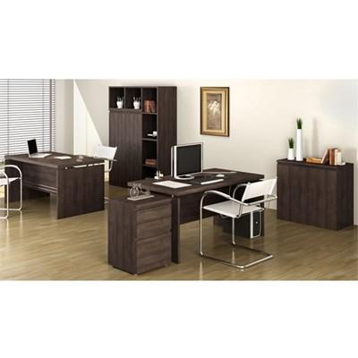 Mesa para Escritório de Reuniões Office 220 cm Carvalho - Kappesberg