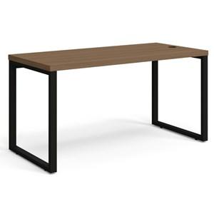 Mesa para Escritório Diretor Frame 150 cm Carvalho Munique - Kappesberg