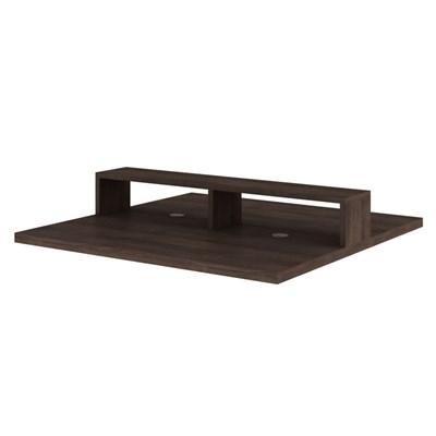 Mesa para Escritório Plataforma Office 136 cm Carvalho - Kappesberg