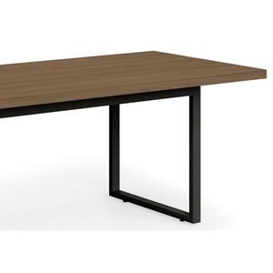 Mesa para Escritório Reunião Frame 220 cm Carvalho Munique - Kappesberg