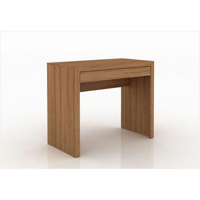 Mesa para Home Office com Gaveta ME4107 Amendoa – Tecno Mobili