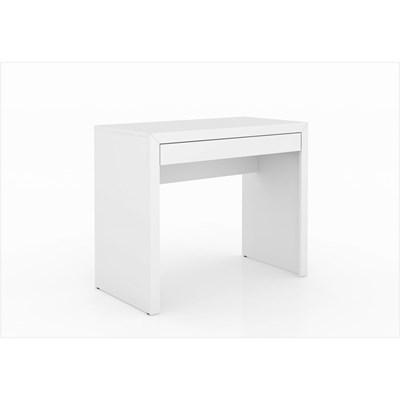 Mesa para Home Office com Gaveta ME4107 Branco – Tecno Mobili
