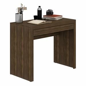 Mesa para Home Office com Gaveta ME4107 Nogal - Tecno Mobili
