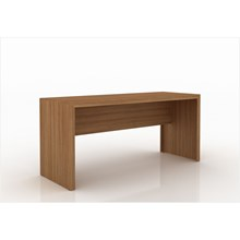 Mesa para Home Office de 163 cm de Largura ME4109 Amendoa  13 Tecno Mobili