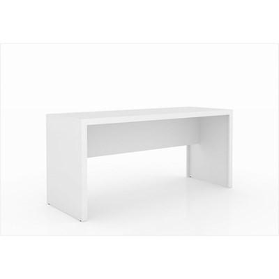 Mesa para Home Office de 163 cm de Largura ME4109 Branco – Tecno Mobili