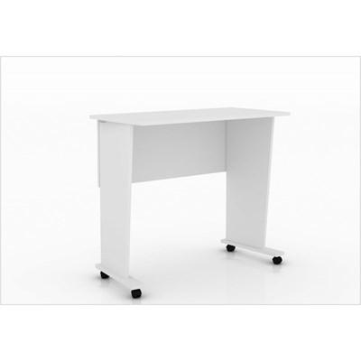 Mesa para Notebook com rodízios ME4117 Branco – Tecno Mobili