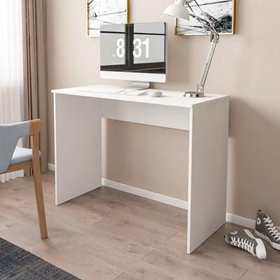 Mesa para Notebook Computador Escrivaninha 101cm Slim Branco - Mpozenato